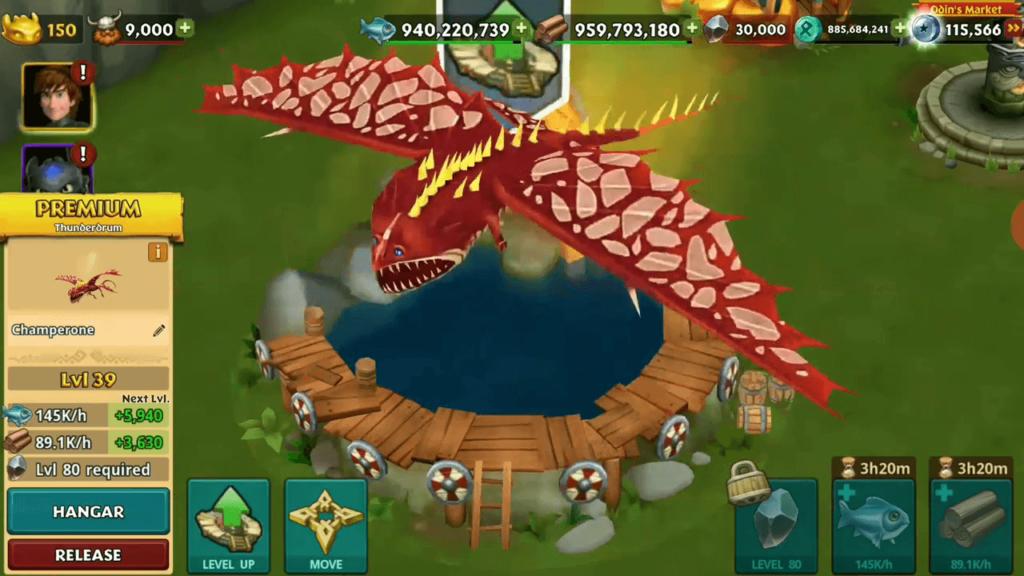 dragons rise of berk runy